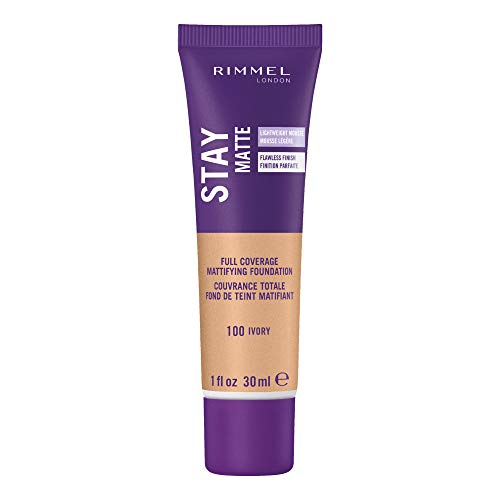 Rimmel London 3 x Stay Matte Liquid Mousse Foundation