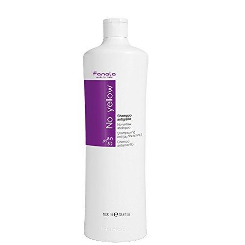 Fanola No Yellow Shampoo 1000 ml Gegen Gelbstich