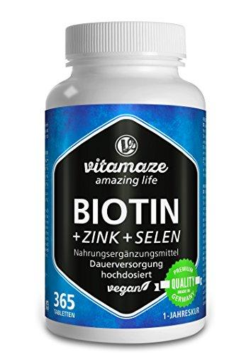 Biotin hochdosiert