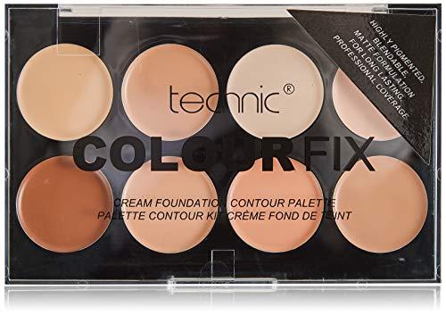 Technic: 8 Color Cream Foundation Contour Palette