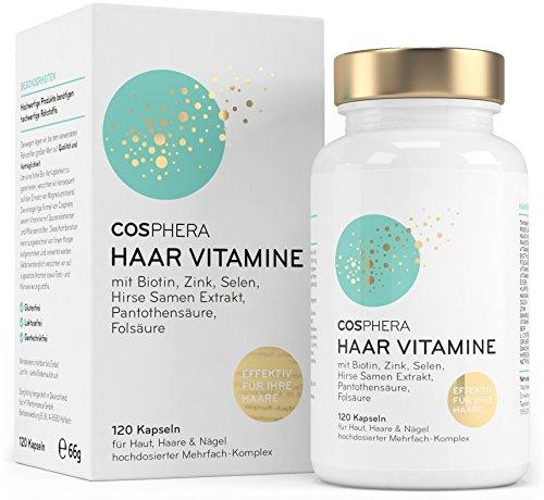 Cosphera Haar-Vitamine - Hochdosiert mit Biotin