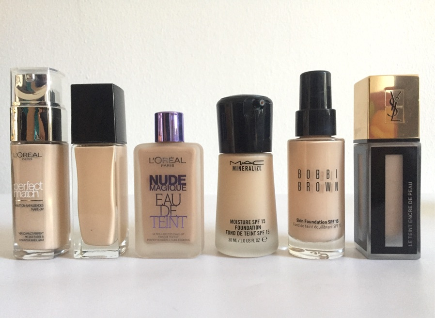 12 Foundations Zur Grundlage Fur Jedes Make Up Tests Der Beauty