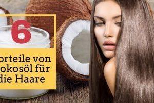 Kokosöl für die Haare: 6 clevere Vorteile des Naturprodukts, die Du nutzen solltest!