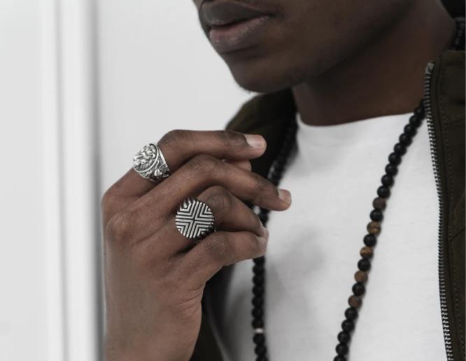 Männer Accessoire Ringe